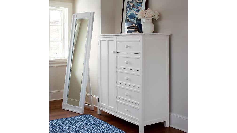 Brighton White Wardrobe