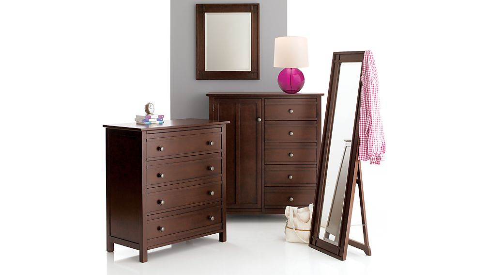Brighton Coffee 4-Drawer Chest