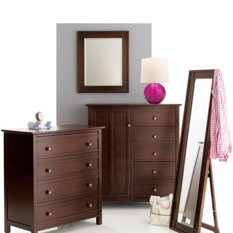 Brighton Coffee Four-Drawer Chest