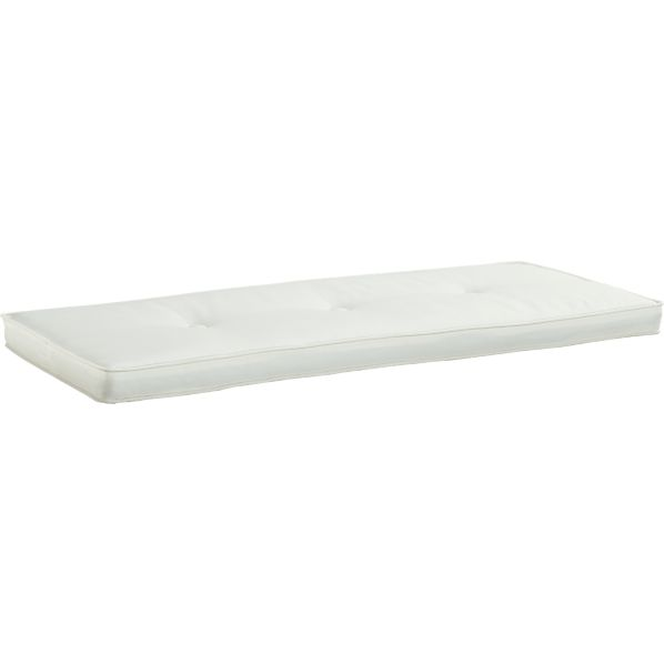 Brighton White Storage Bench Cushion