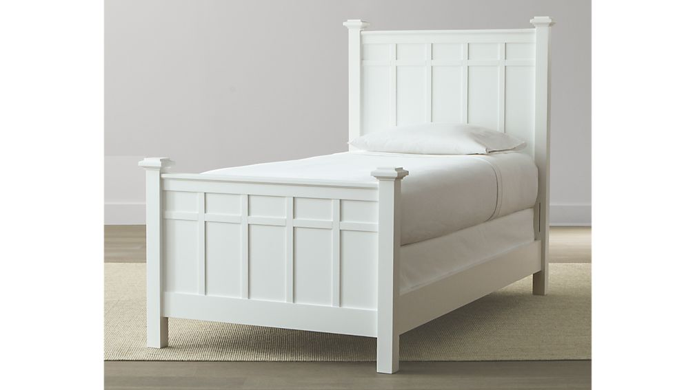Brighton White Queen Bed