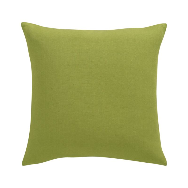 Crate and Barrel: Brinkley Pillow in Chartreuse