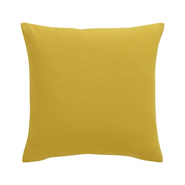 "Brinkley Mustard 18"" Pillow"