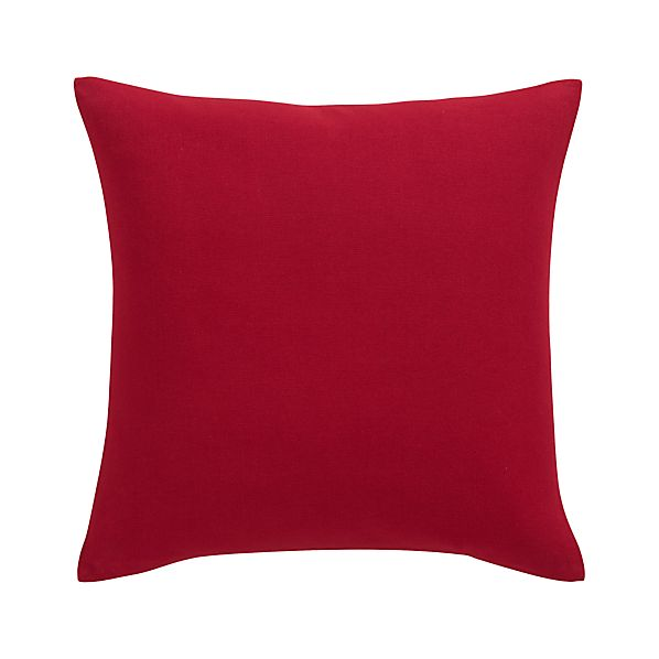 "Brinkley Red 18"" Pillow"