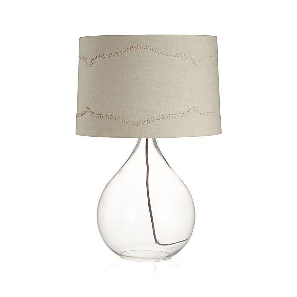 brogue table lamp crate and barrel. Black Bedroom Furniture Sets. Home Design Ideas