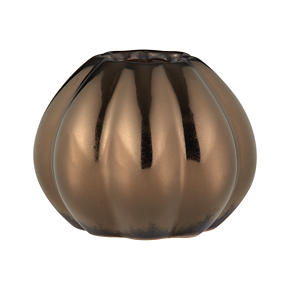 Bronze Pumpkin Small Vase
