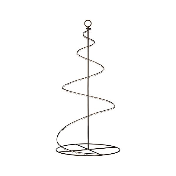 "Bronze Swirl 36"" Ornament Tree"