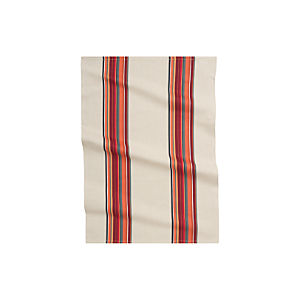 Brooklyn Red Dishtowel