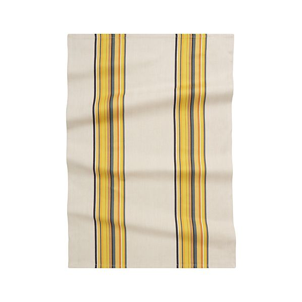 Brooklyn Yellow Dishtowel