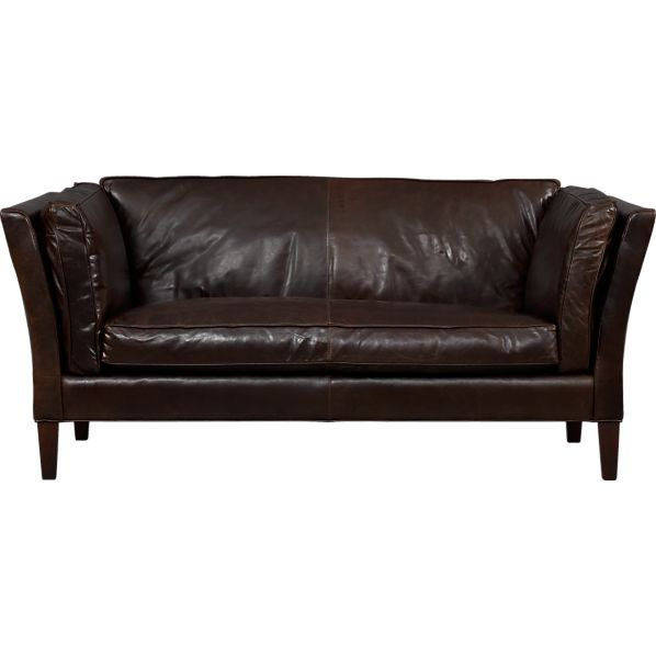 Brooks Leather Settee