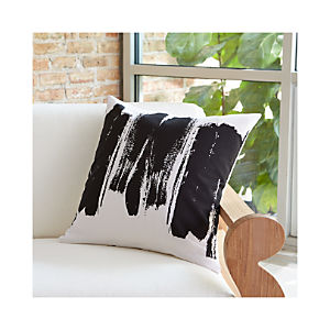 "Brush Stroke 20"" Pillow"