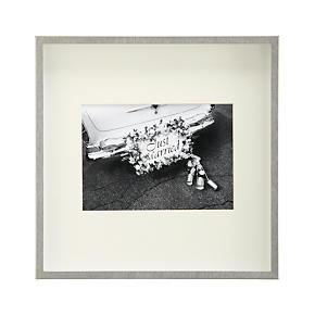 Brushed Silver 5x7 Wall Frame