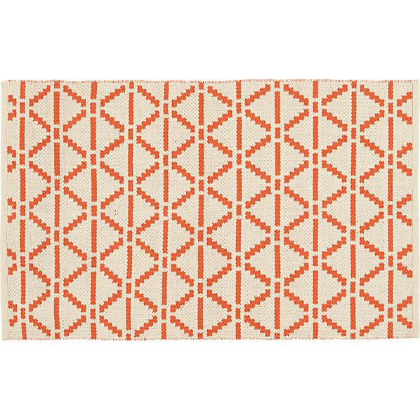 """Bucato Coral 30""""x50"""" Rug"""