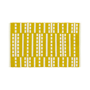 Bucato Yellow 2'x3' Rug