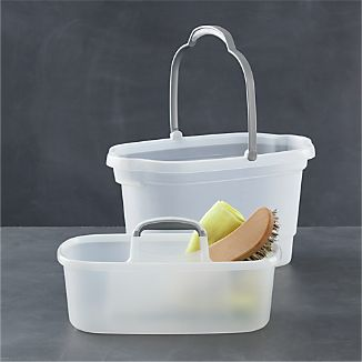 Casabella® 2-Piece Bucket and Storage Caddy Set