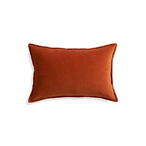 """Buckley Orange 24""""x16"""" Pillow"""
