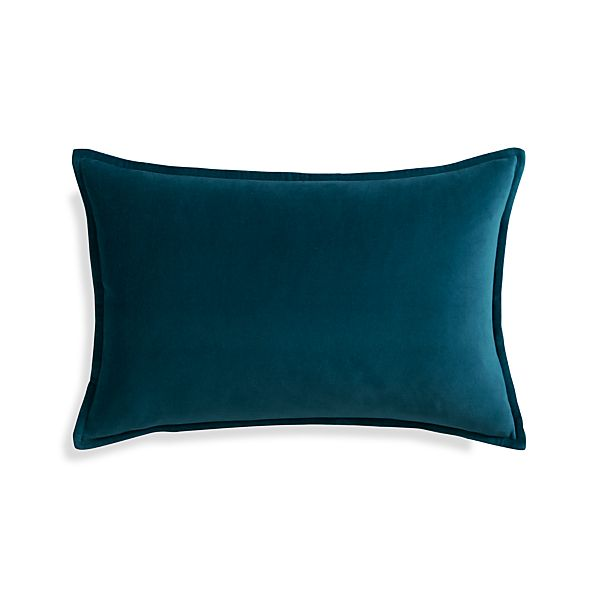 "Buckley Teal 24""x16"" Pillow"