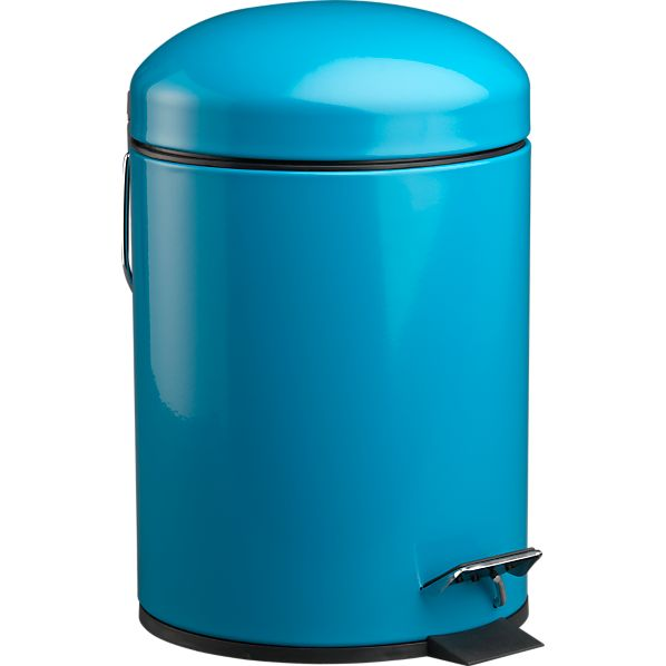 Aqua Bullet 1.3-Gallon Trash Can