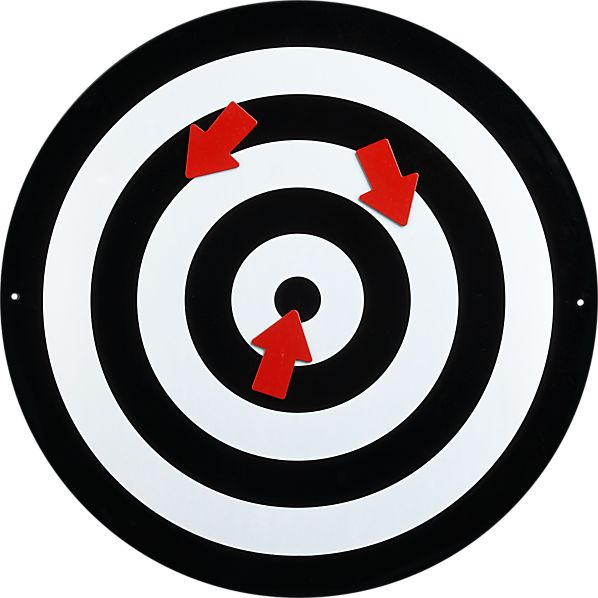 Bullseye Magnetic Board