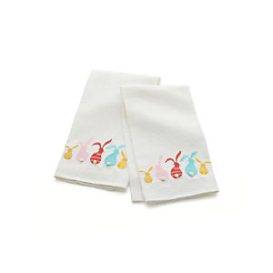 Bunny Bottoms Dish Towels Set of Two