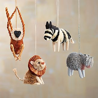 Buri Safari Ornaments
