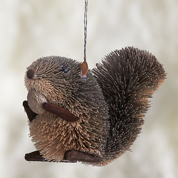Buri Squirrel Ornament