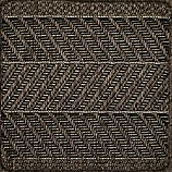 "Butler Chevron Indoor-Outdoor 12"" sq. Rug Swatch"