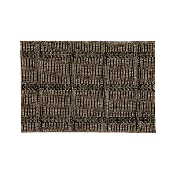 Butler Grid Indoor-Outdoor 2'x3' Rug
