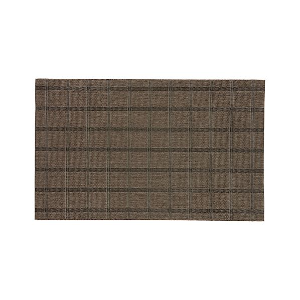 Butler Grid Indoor-Outdoor 5'x8' Rug