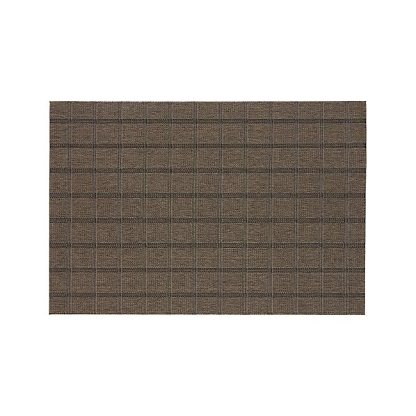 Butler Grid Indoor-Outdoor Rug