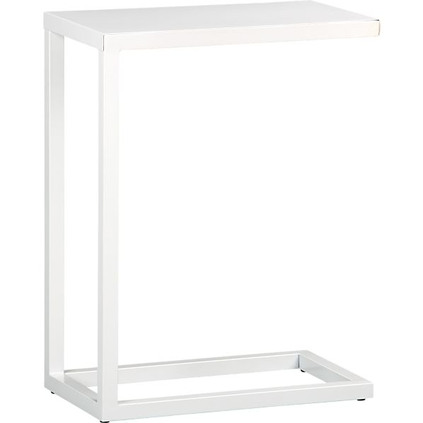 White C Table