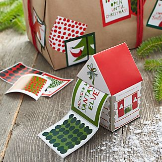 Cabin Label Box with Set of 50 Labels