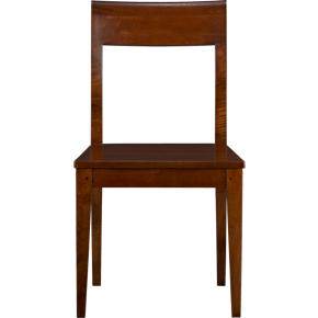 Cabria Honey Brown Wood Side Chair