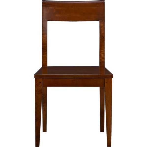 Cabria Honey Brown Wood Dining Chair In Dining Chairs