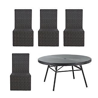 Calistoga 5-Piece Round Dining Set