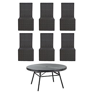 Calistoga 7-Piece Round Dining Set