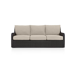 Calistoga Sofa with Sunbrella ® Stone Cushion
