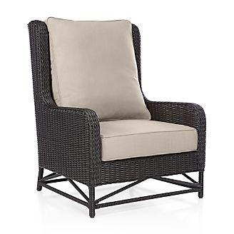 Calistoga Wingback Lounge Chair with Sunbrella ® Cushion