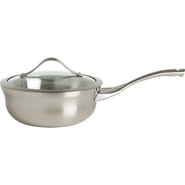 Calphalon® Contemporary Stainless 1.5 qt. Saucepan with Lid