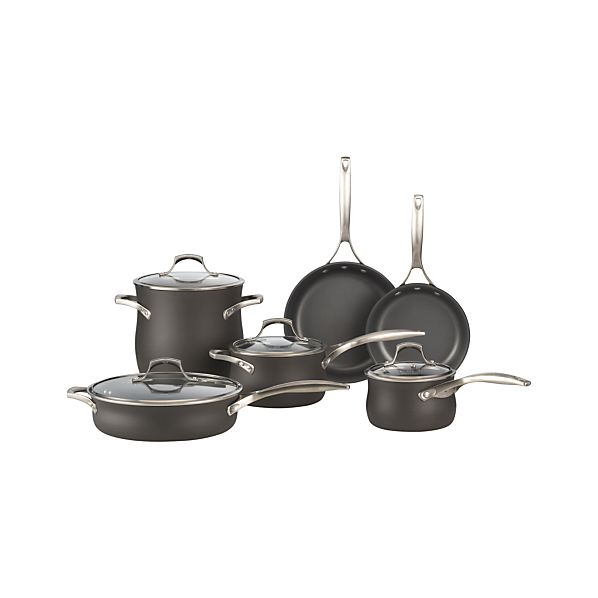 Calphalon Contemporary ™ Unison ™ Slide & Sear Nonstick 10-Piece Cookware Set with Double Bonus