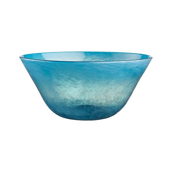Calypso Large Turquoise Bowl