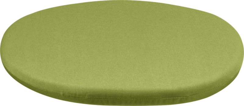 Optional modular corner chair cushion is fade- and mildew-resistant Sunbrella acrylic in kiwi.<br /><ul><li>Fade- and mildew-resistant Sunbrella acrylic</li><li>100% polyfoam fill</li><li>Spot clean</li><li>Made in USA</li></ul><NEWTAG/>
