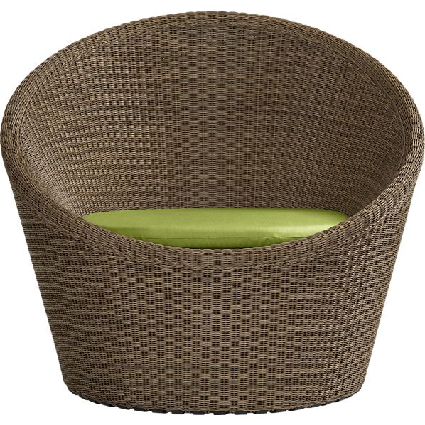 Calypso Swivel Lounge Chair with Sunbrella® Kiwi Cushion