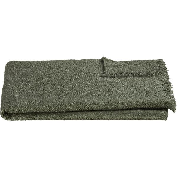 Cambria Charcoal Throw