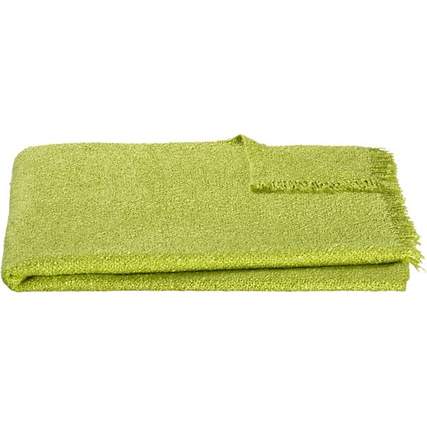 Cambria Green Throw