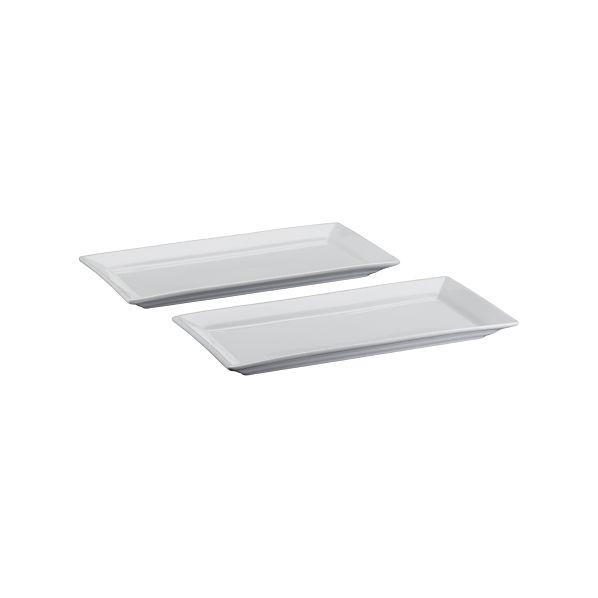 Set of 2 Cambridge Server Plates