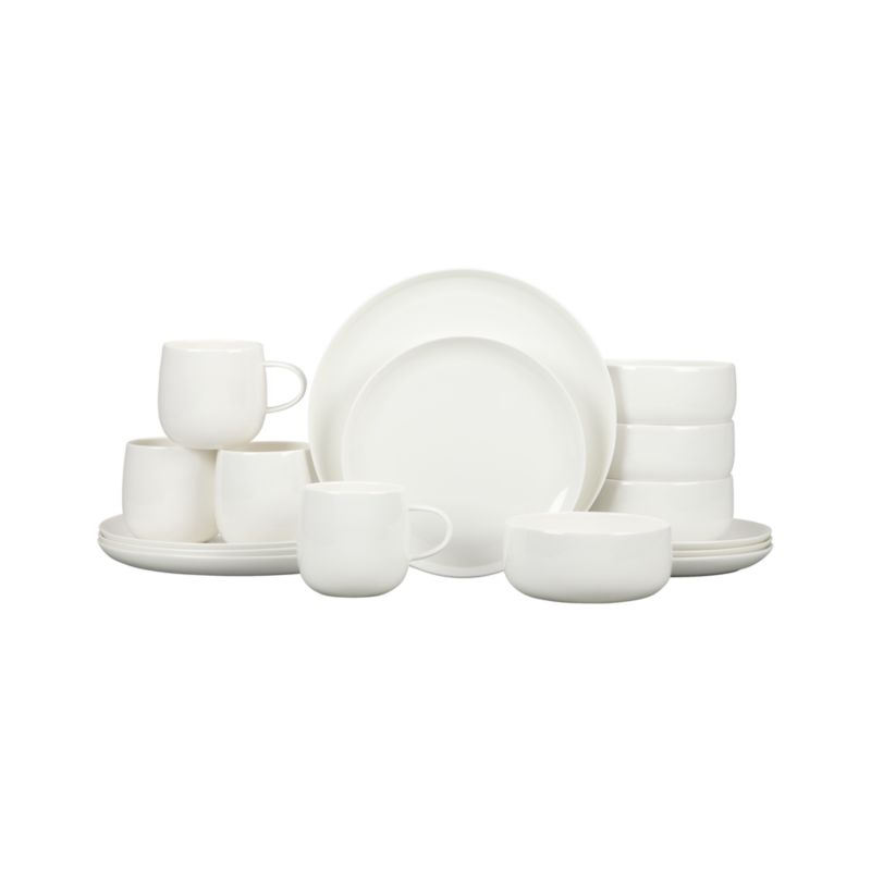 Camden Bone China 16-Piece Dinnerware Set