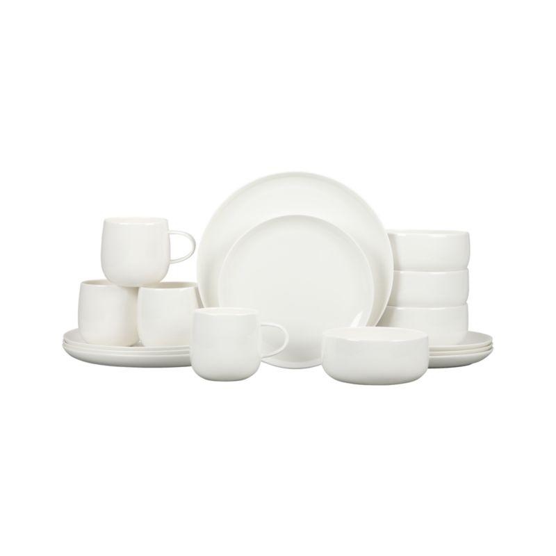 Camden Bone China 16-Piece Dinnerware Set
