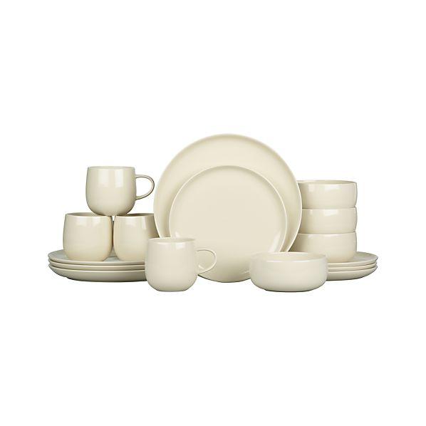 Camden Sand 16-Piece Dinnerware Set