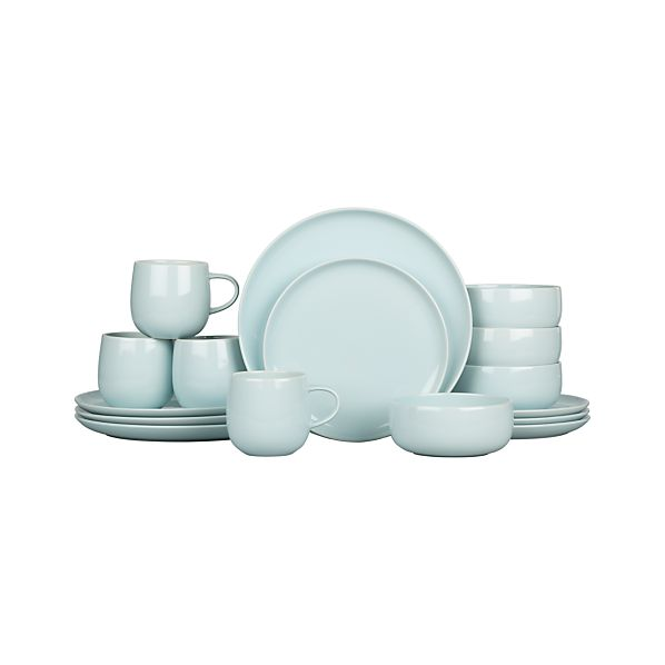 Camden Sky 16-Piece Dinnerware Set